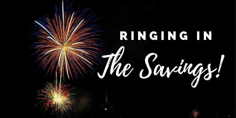 ringing in the savings